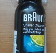 Spray środek preparat czyszczący do golarek Braun